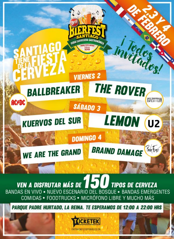 #Concurso: Rompiendo el Corcho te invita a Bierfest Santiago