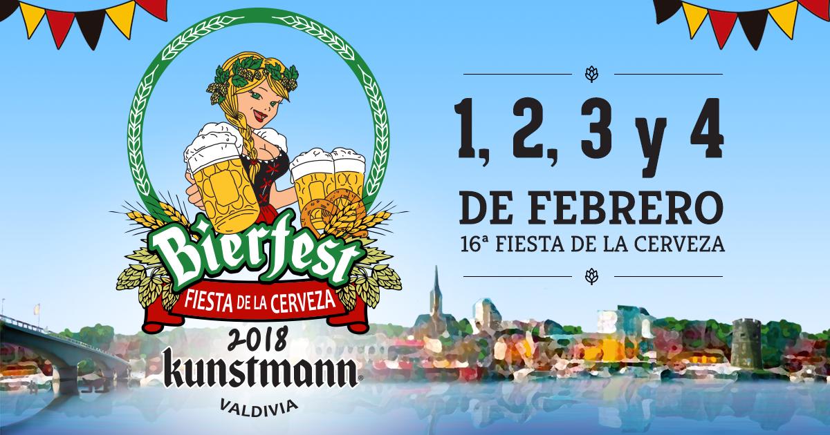 Bierfest Kunstmann se realizará entre 1 y 4 de febrero