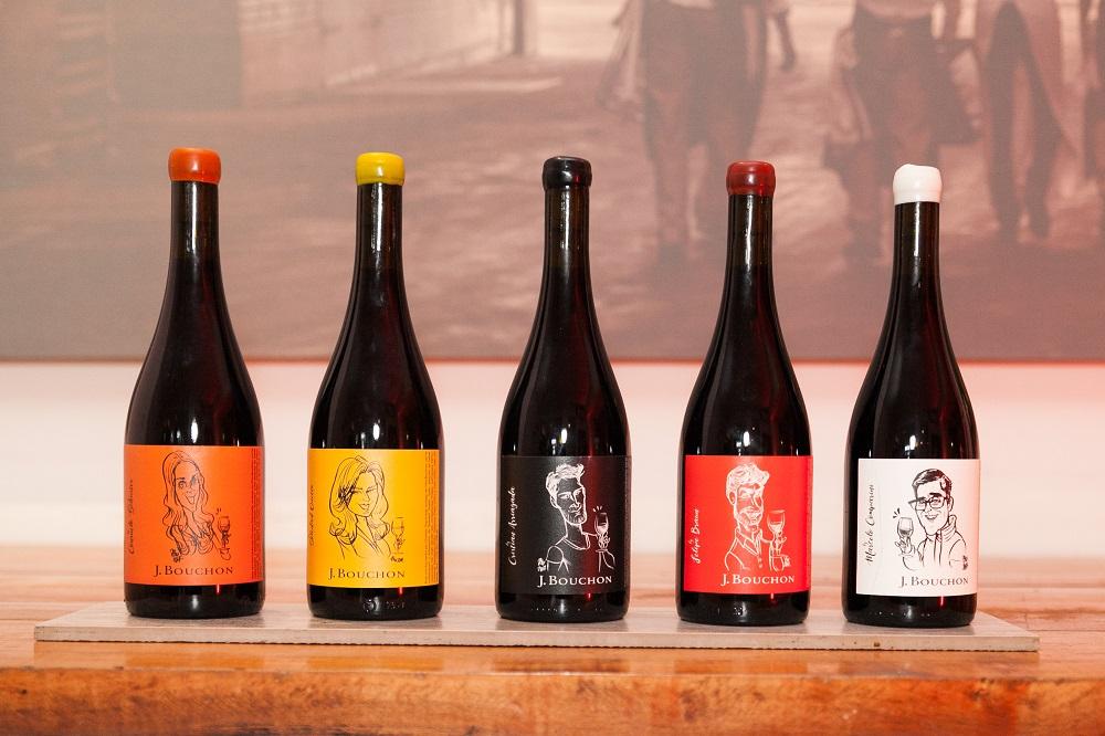 Viña Bouchon se la juega y crea cinco nuevos vinos con la personalidad de 5 rostros de la música y la tv