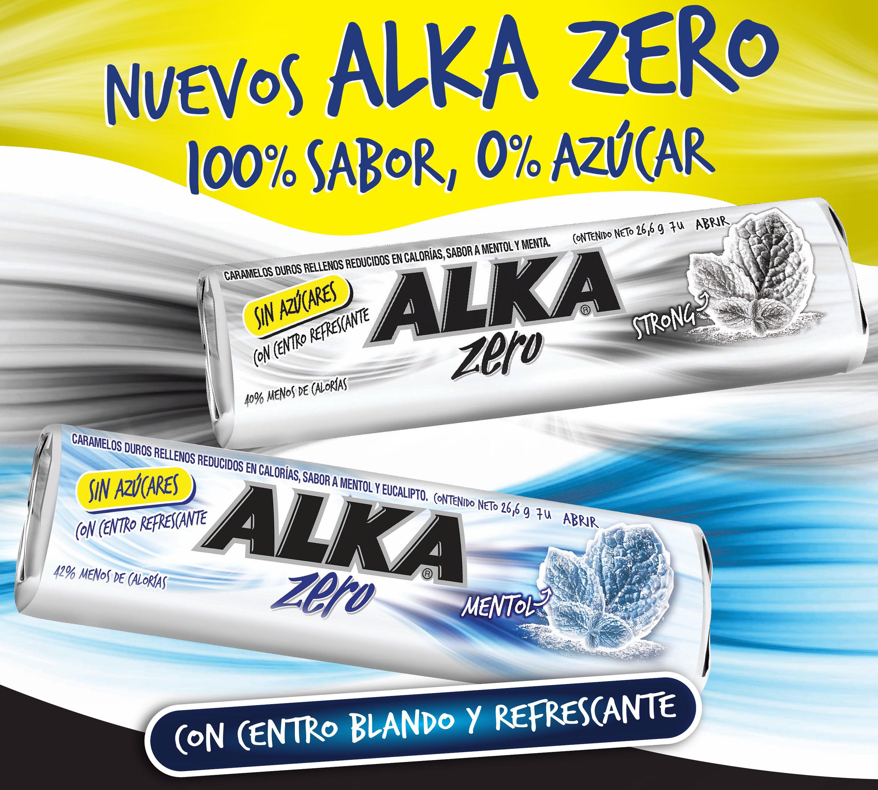 Alka presenta su nueva edición sin azúcar: Alka Zero