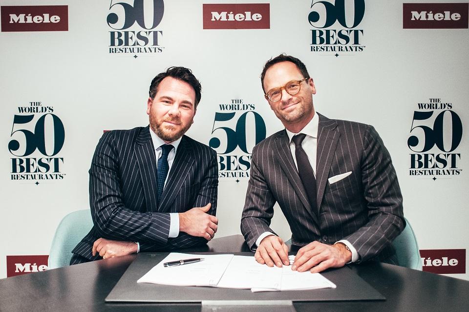 Miele es seleccionado como socio de The World's 50 Best Restaurants