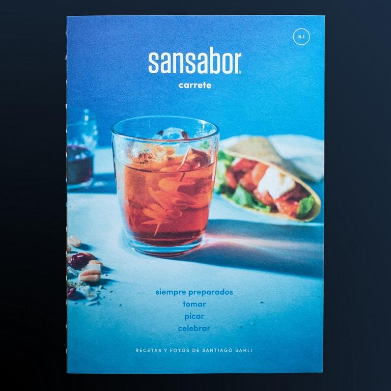 Sansabor publica su primer libro con las mejores recetas