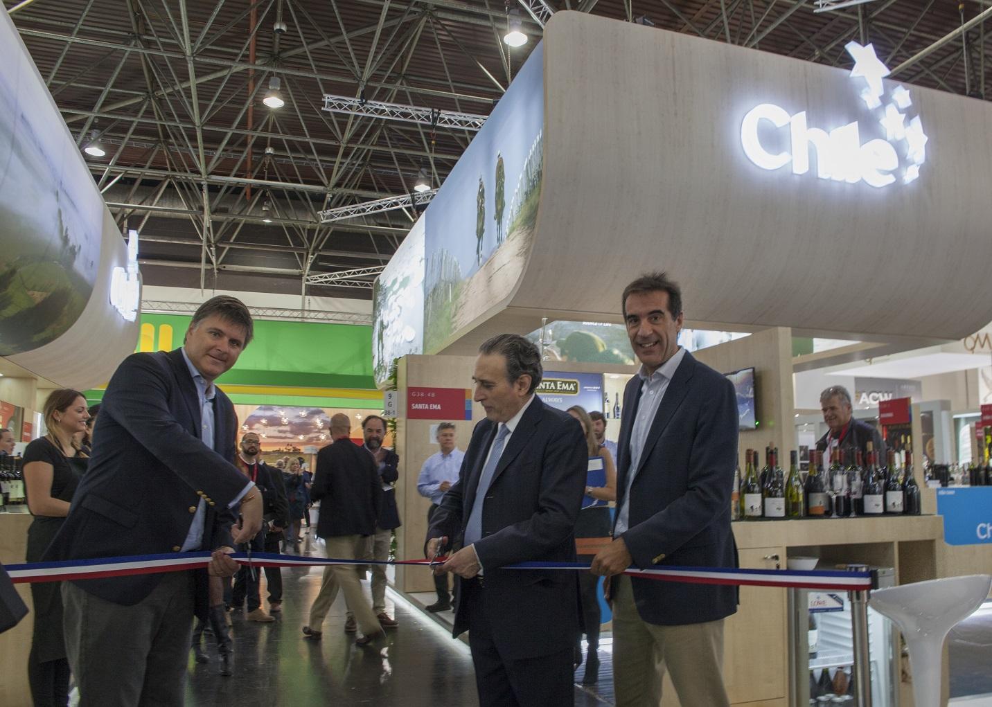 Viñas chilenas serán parte de la feria ProWein en Alemania