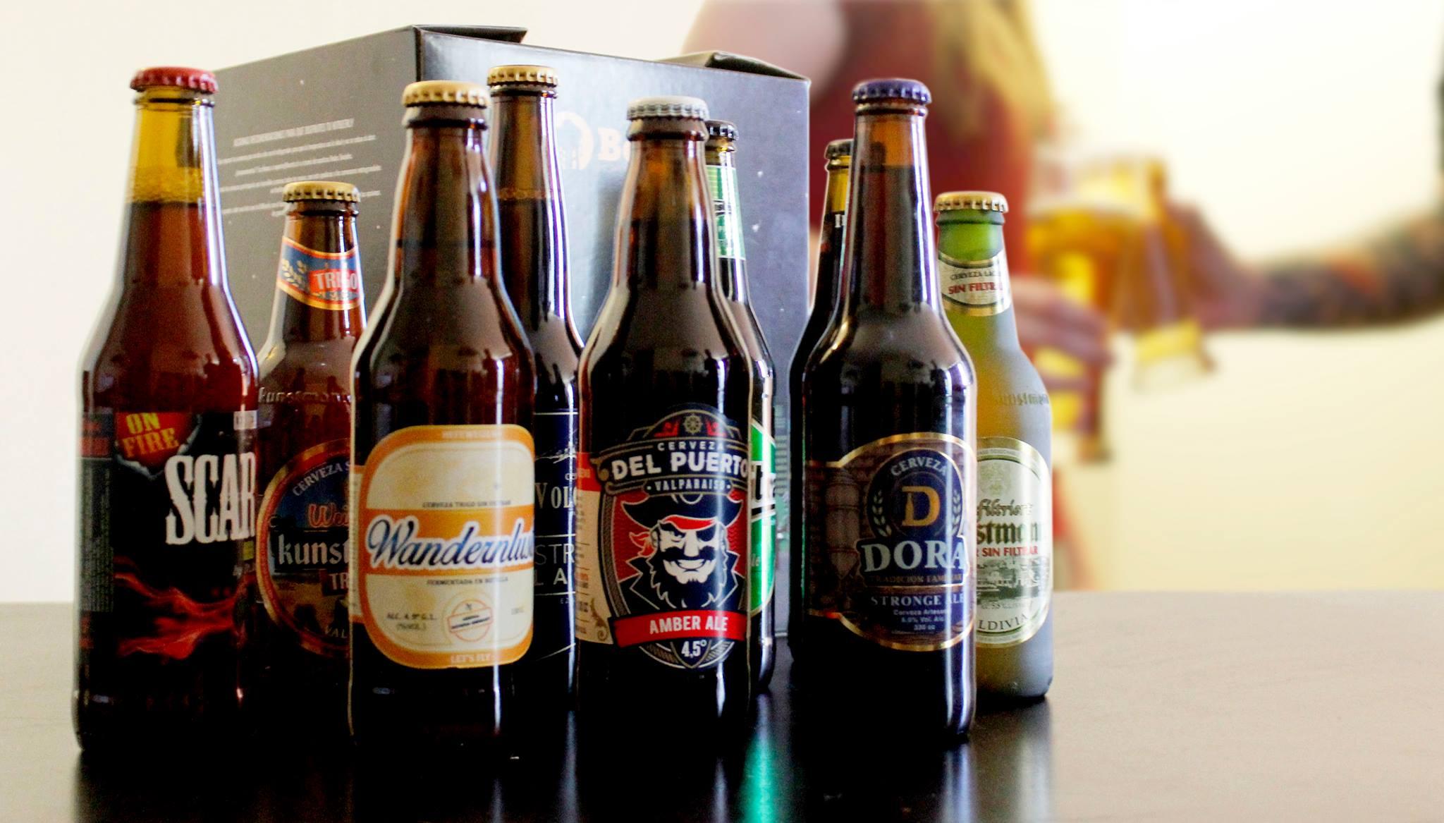 Las cervezas artesanales nacionales salen en busca del mercado internacional.