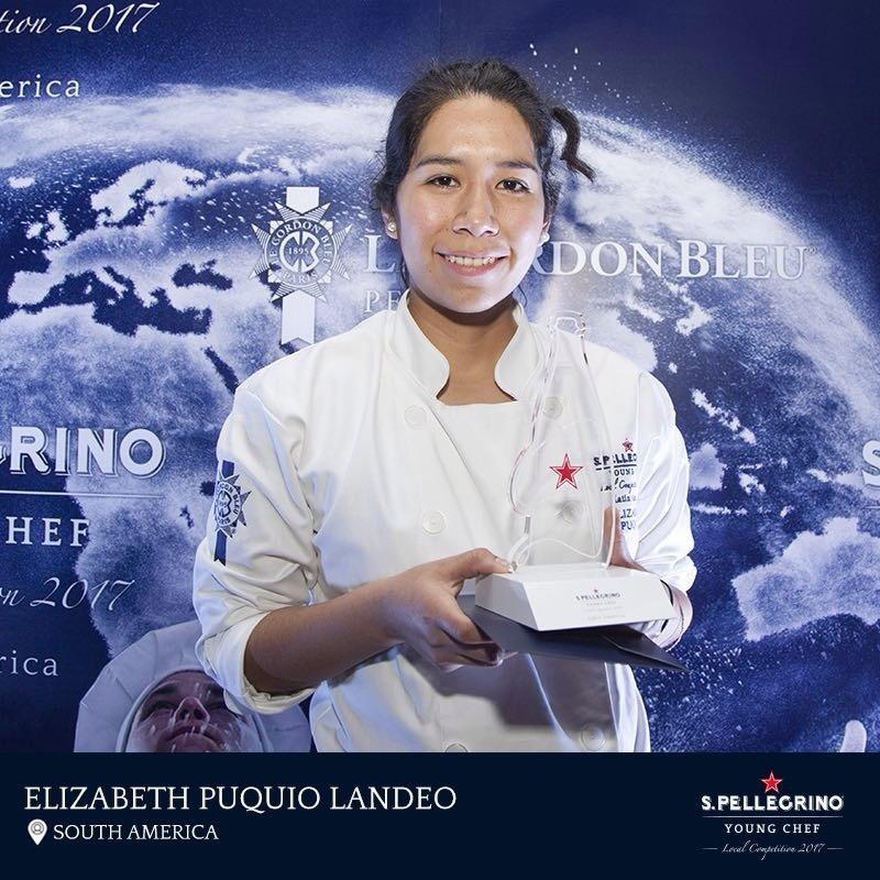 Elizabeth Puquio representará a Chile y a Latinoamérica en los S.Pellegrino Young Fest 2018