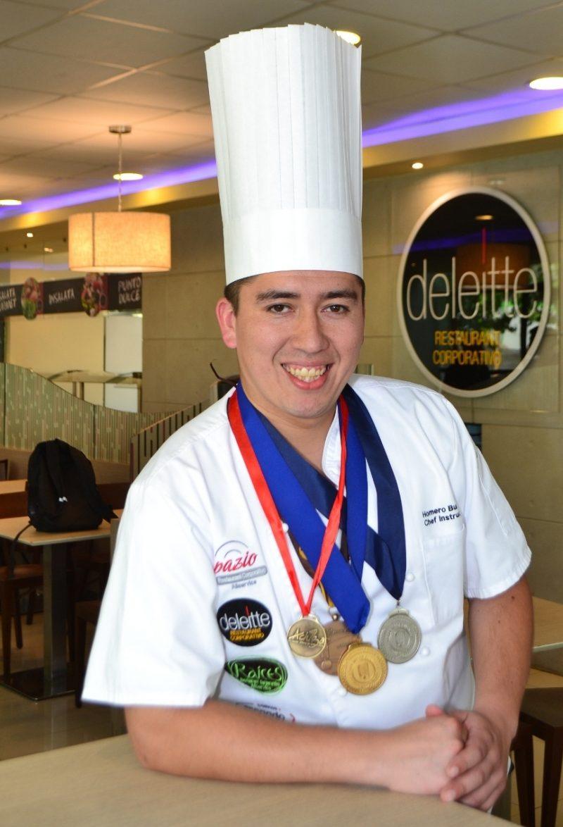 El chef Homero Burgos será observador en la etapa latina de Bocuse D'Or