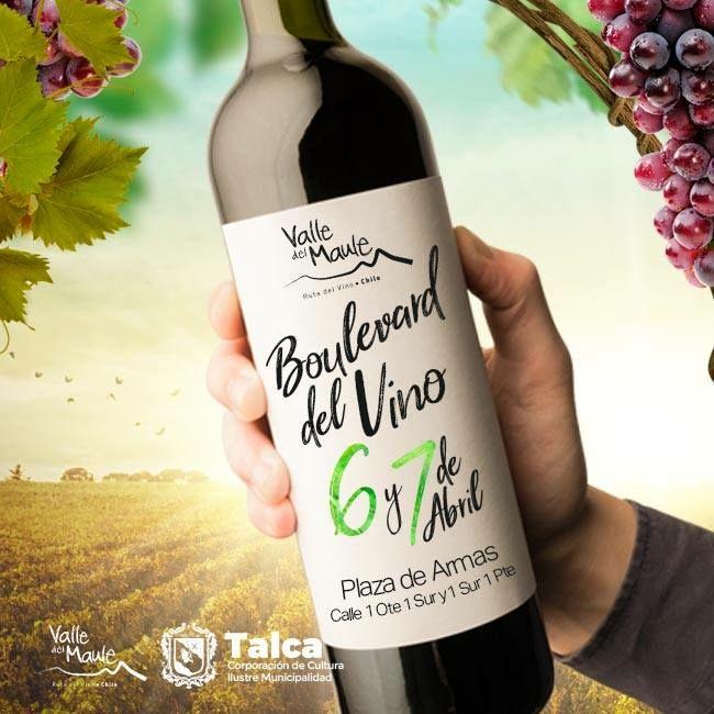 El Maule se tiñe con tinto: X edición del Boulevard del vino en Talca