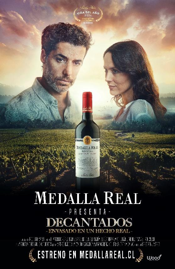 """Medalla Real renueva su imagen y presenta el cortometraje """"Decantados"""""""