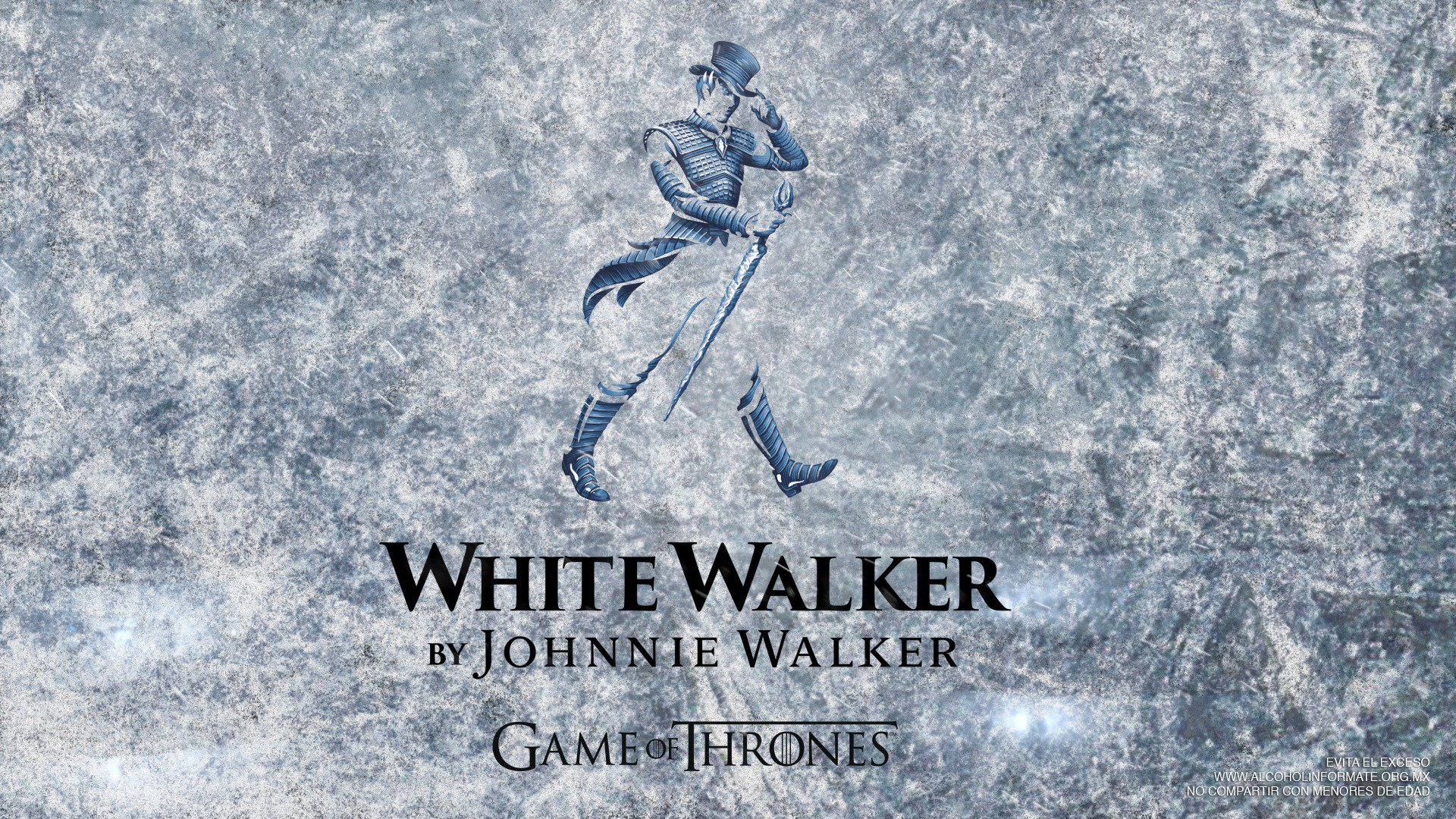 White Walker de Johnnie Walker: GoT en un vaso