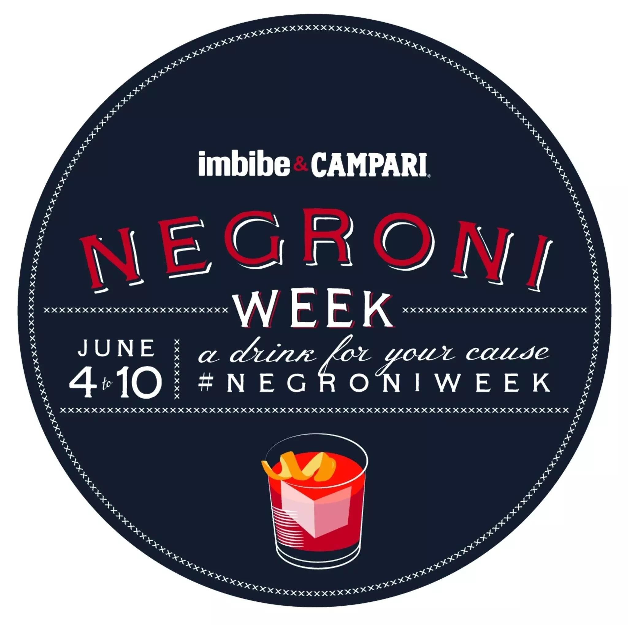 Chile se suma a la gran campaña benéfica de Campari: Negroni Week.