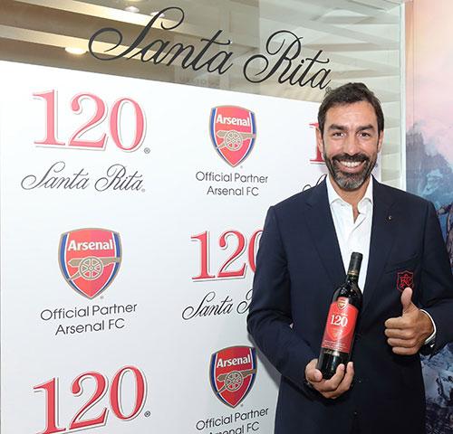 120 Arsenal FC: Santa Rita lanza su vino inspirado en el club ingles