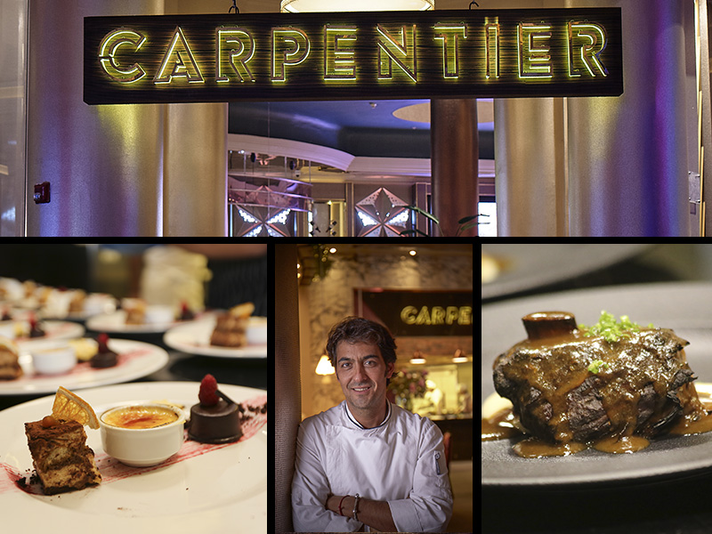 Carpentier, la nueva apuesta de Christopher Carpentier