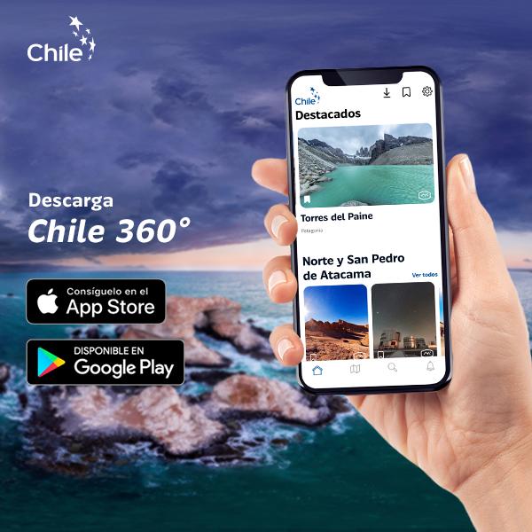 Chile 360: Recorre los atractivos del país con esta nueva app