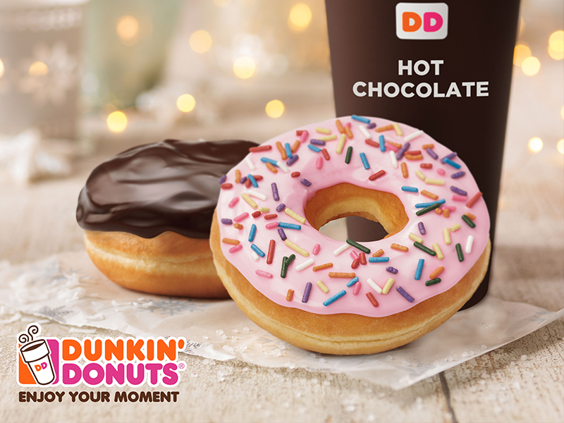 Enamórate del chocolate con Dunkin' Donuts