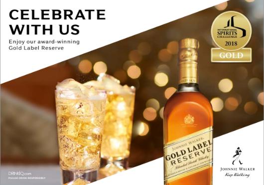 Johnnie Walker Gold es premiado como el mejor Blend del mundo