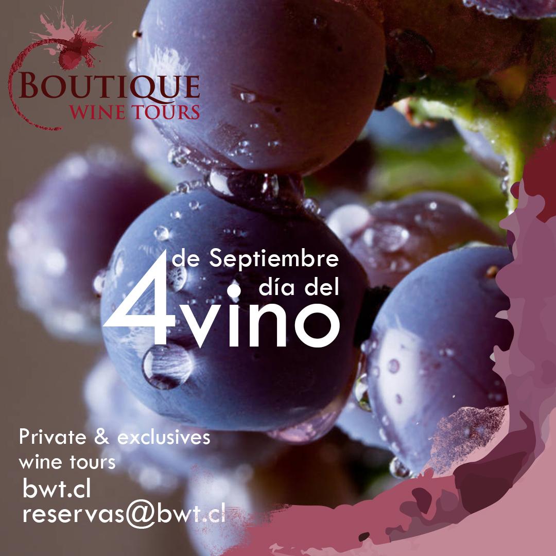 Boutique Wine Tours celebra el Día del Vino con descuentos para todos