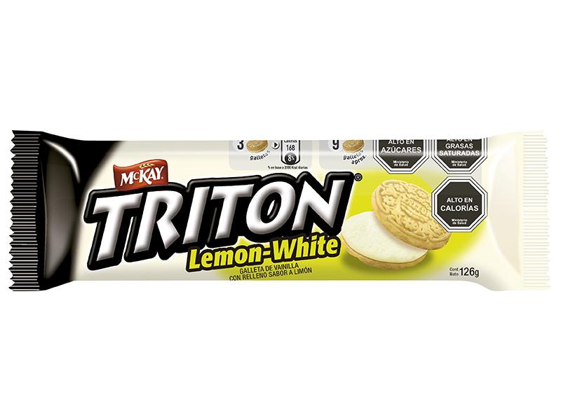 TRITON se renueva con su versión Lemon-White