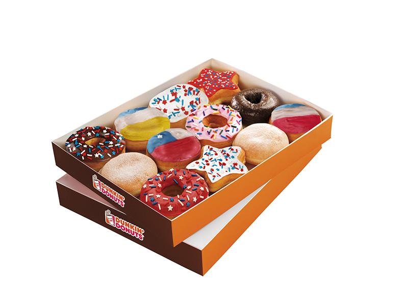 Historia de Chile, la apuesta dieciochera de Dunkin' Donuts