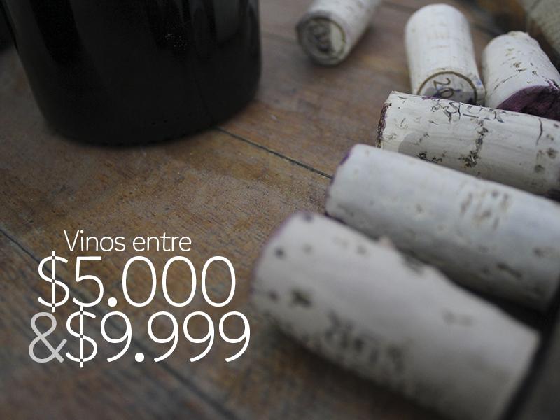 #VinosReC – Opciones entre $5.000 y $9.999