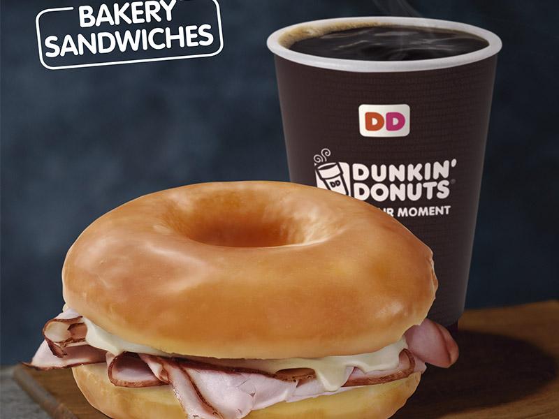 Dunkin' Donuts suma inédito Sándwich de Donut a su menú