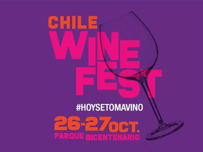 A brindar con Chile Wine Fest