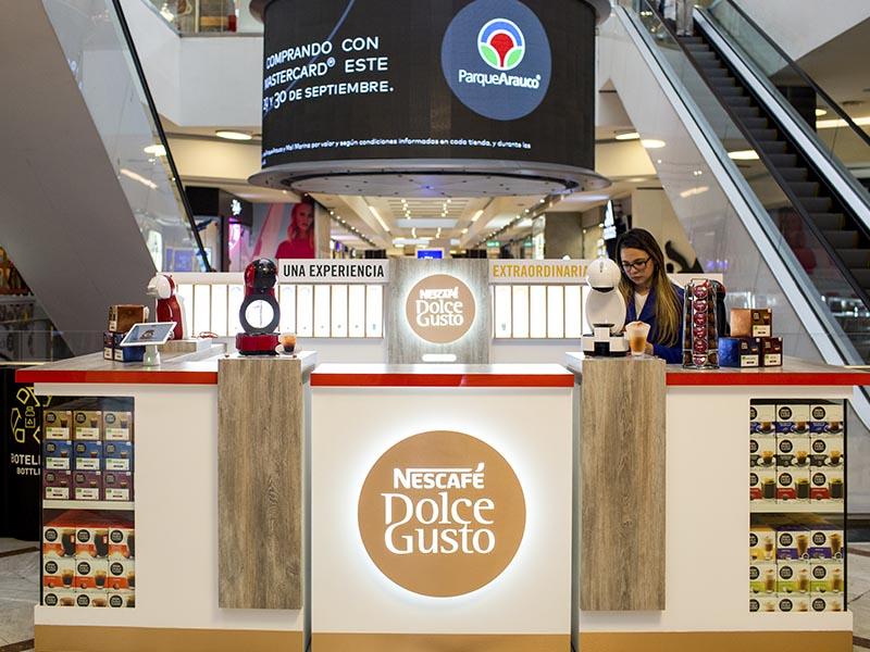 Dolce Gusto de Nescafé abre su primera tienda