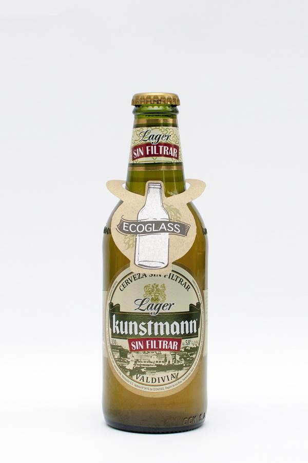 Cervecería Kunstmann implementa botella ecológica