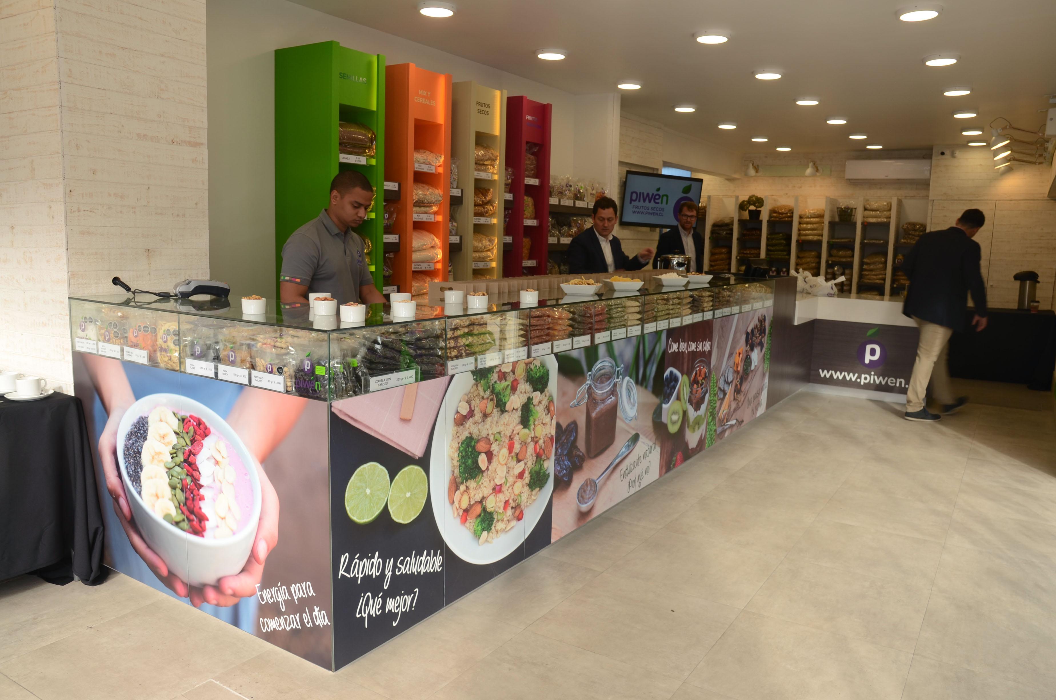 Piwén Frutos Secos aterriza con nueva tienda en Vitacura