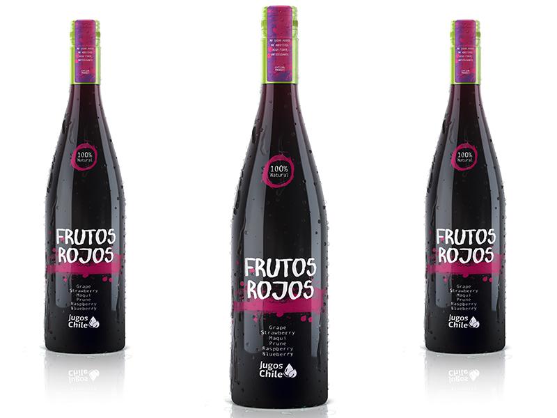 Jugos Chile presenta Frutos Rojos