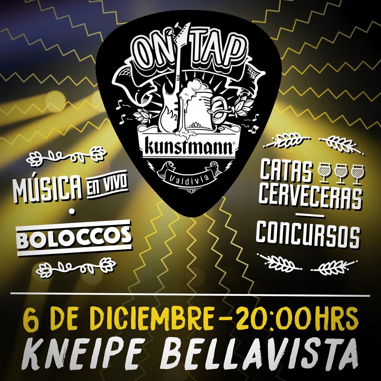Kunstmann On Tap: catas cerveceras y música en vivo se tomarán las tardes de Bellavista
