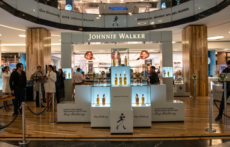 El Pop Up Store de Johnnie Walker vuelve en navidad