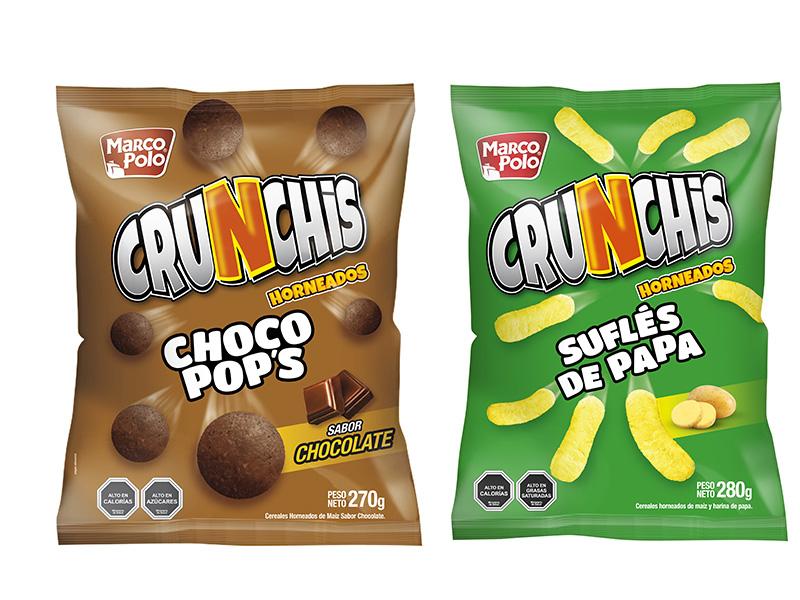 Marco Polo presenta 2 nuevos snacks