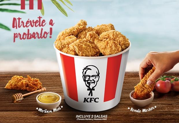 KFC presentó su bucket verano