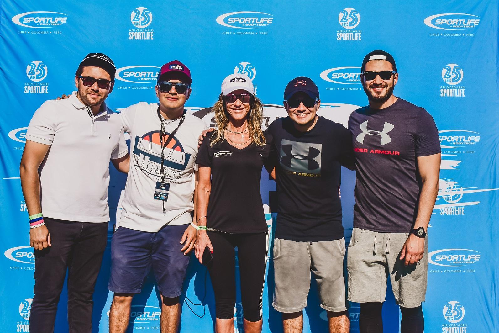 Sportlife celebró sus 25 años con una gran fiesta del deporte