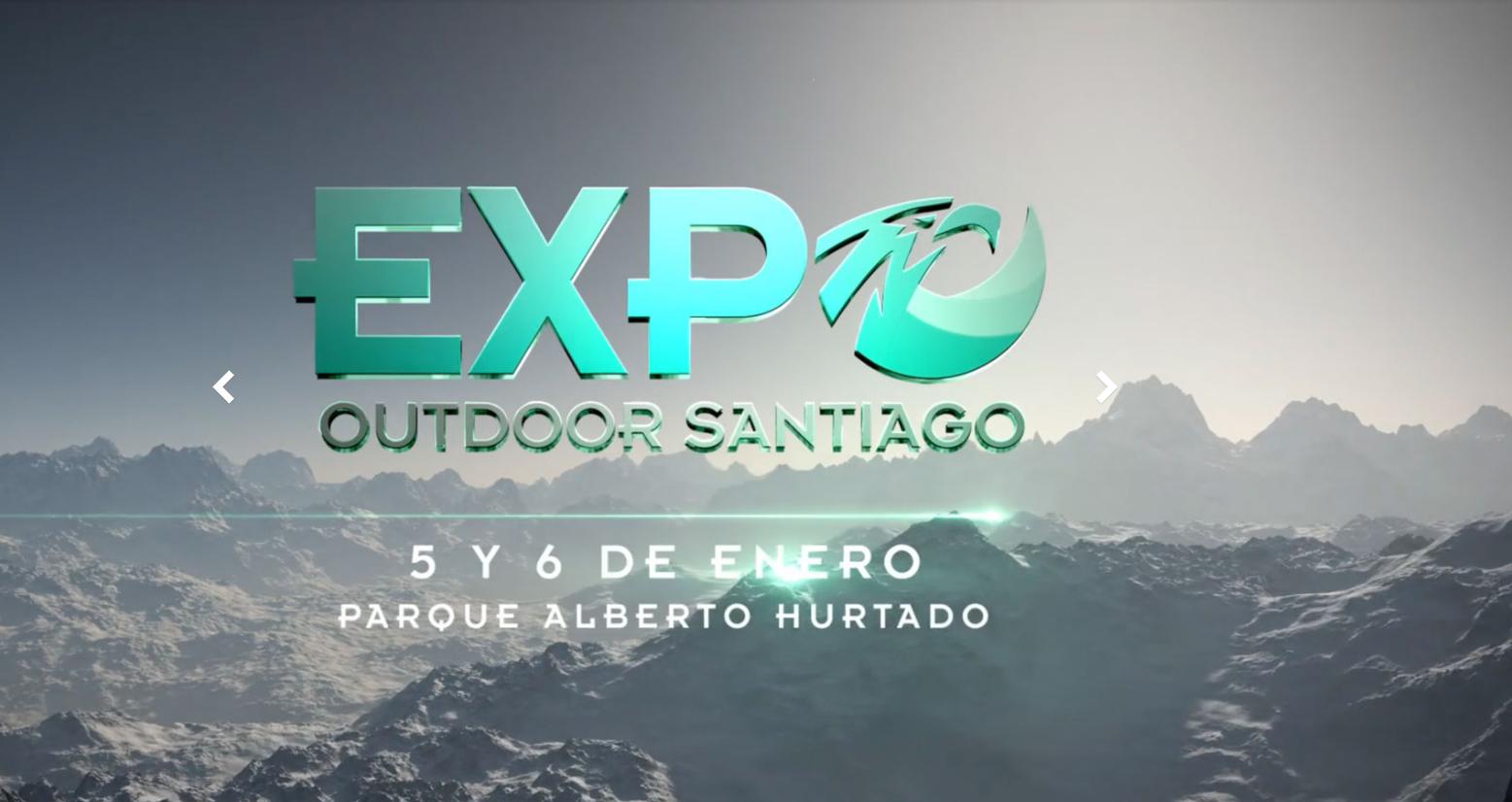 Este fin de semana se realizará la Expo Outdoor Santiago
