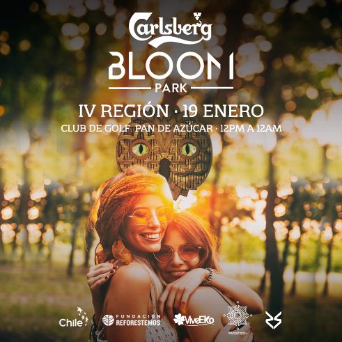 Bloom Park se realizará el 19 de enero en La Serena.