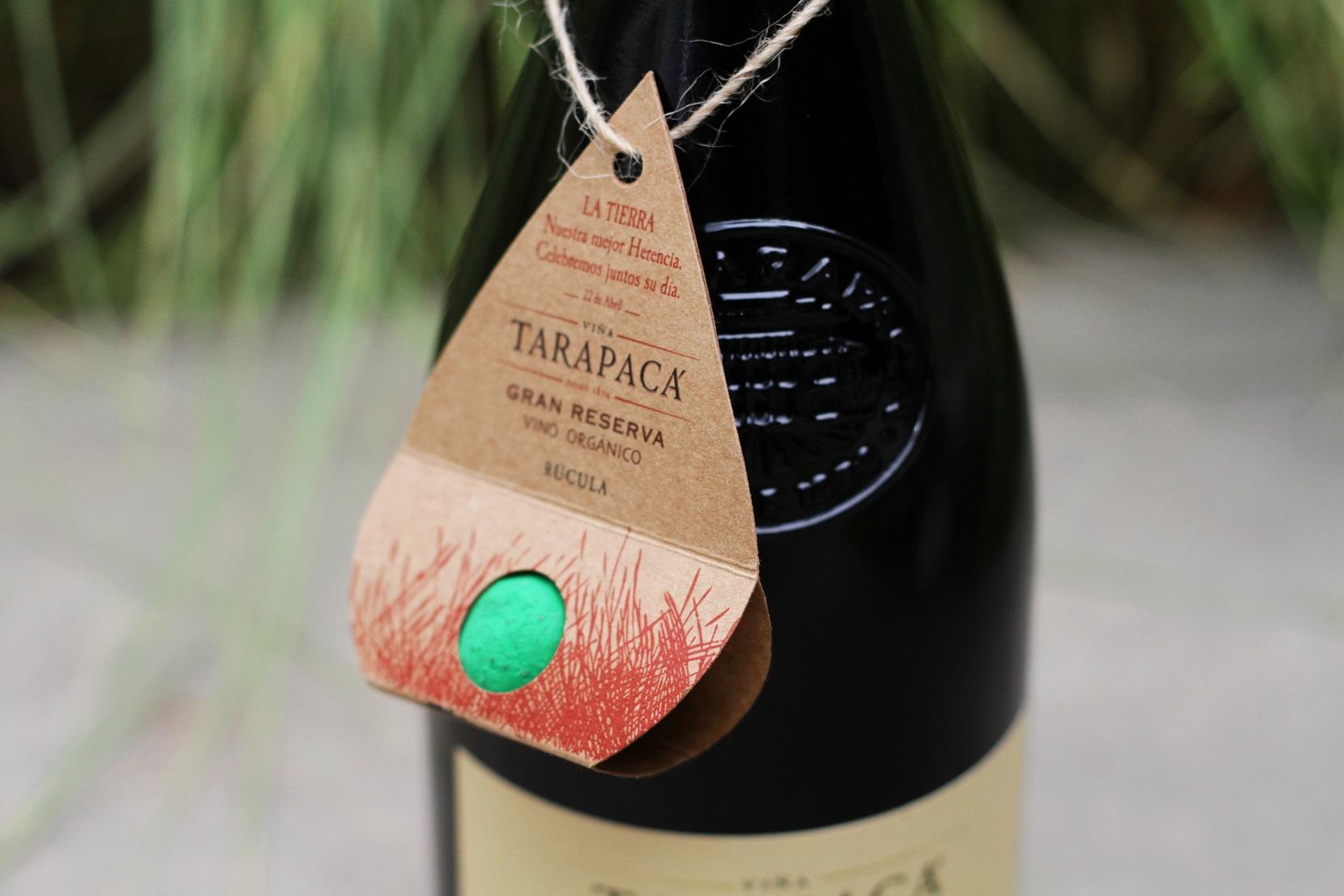 Tarapacá Gran Reserva Orgánico viste sus botellas para acompañar el Mes de la Tierra