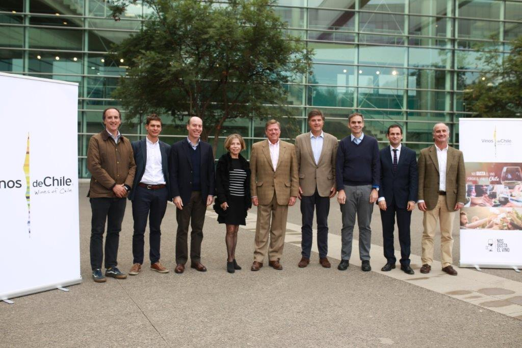 Vinos de Chile presenta su nuevo directorio