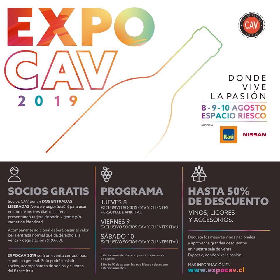 ExpoCav se realizará este 8, 9 y 10 de agosto.