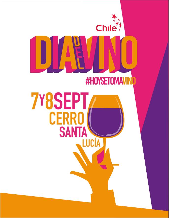 El Día Nacional del Vino se celebrará en Cerro Santa Lucia