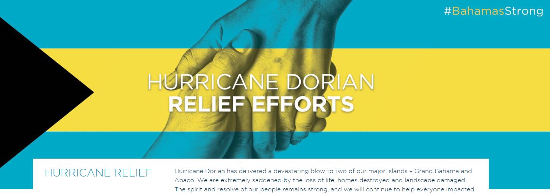 Consecuencias del huracán Dorian en Las Islas de Las Bahamas