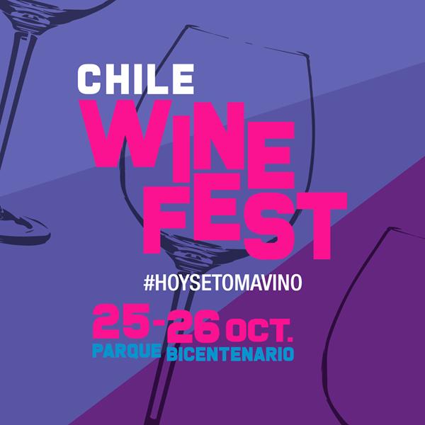 EVENTO SUSPENDIDO: Se viene una nueva edición de Chile Wine Fest