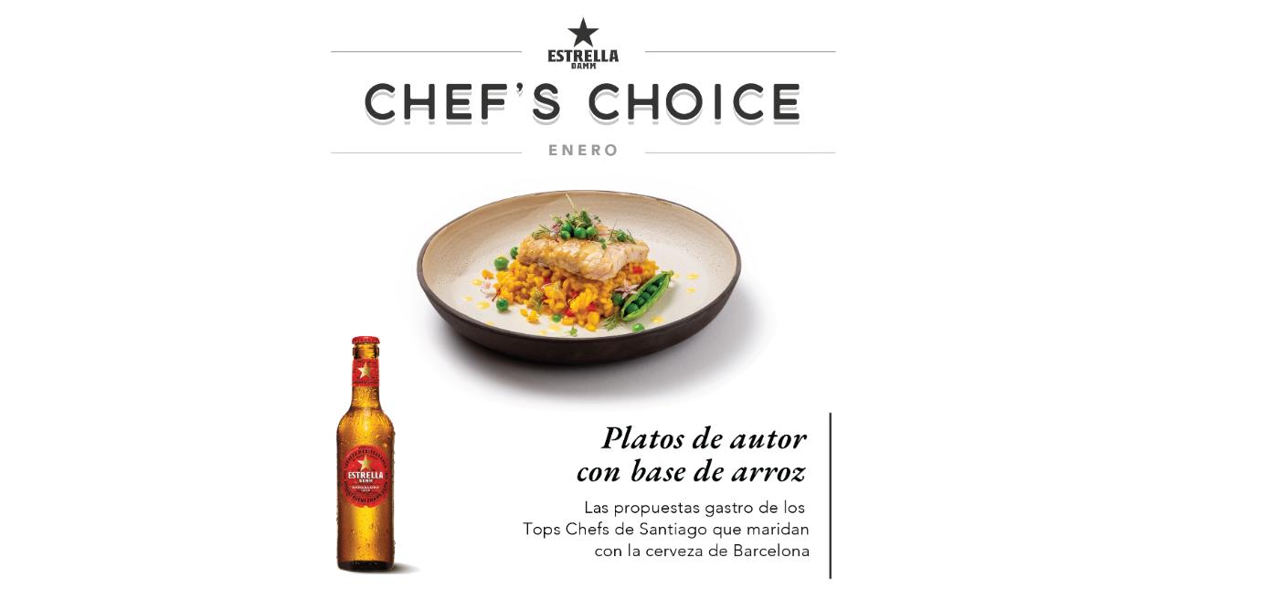 Chef's Choice llega a Santiago.