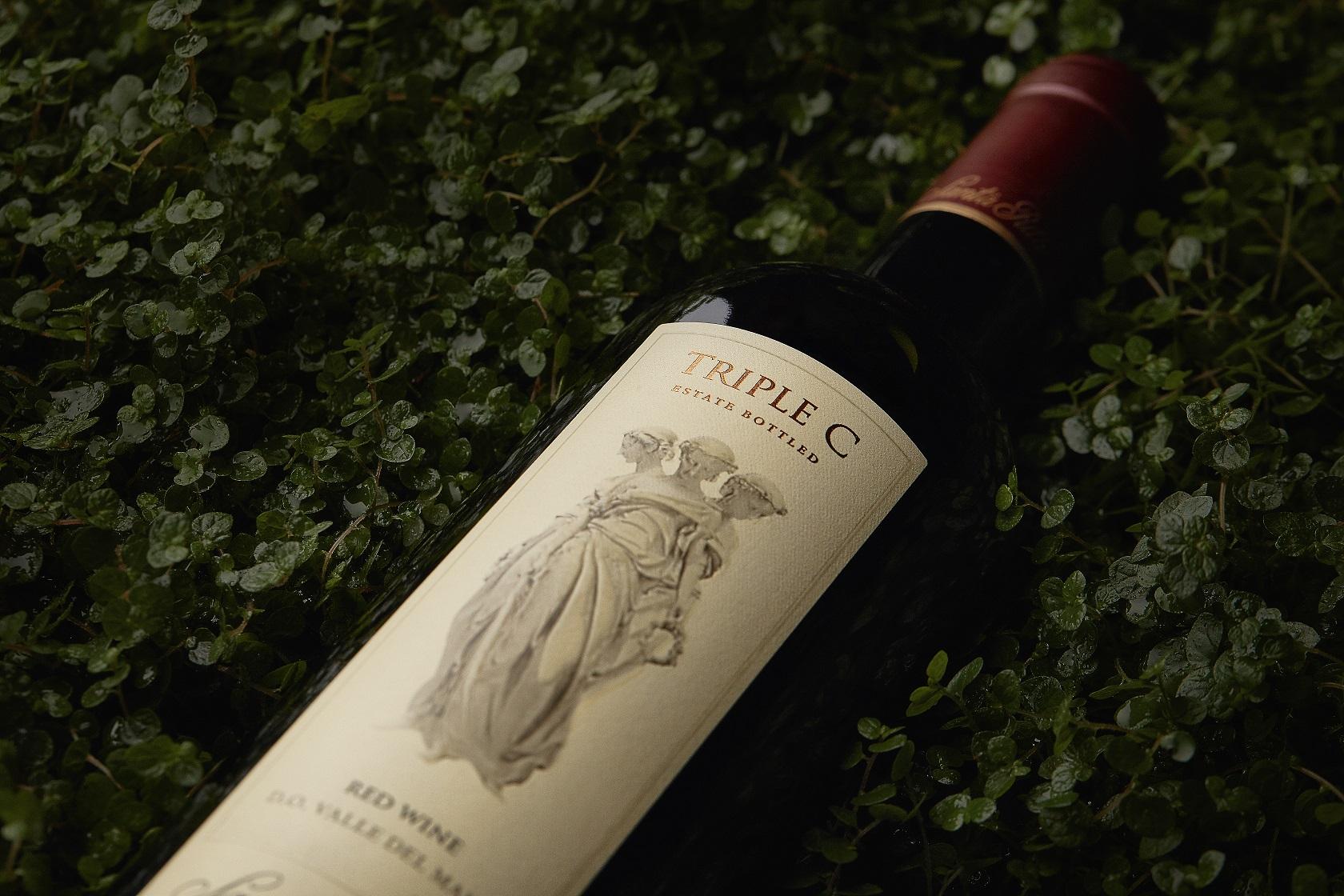 Triple C fue premiado en Wine Enthusiast.