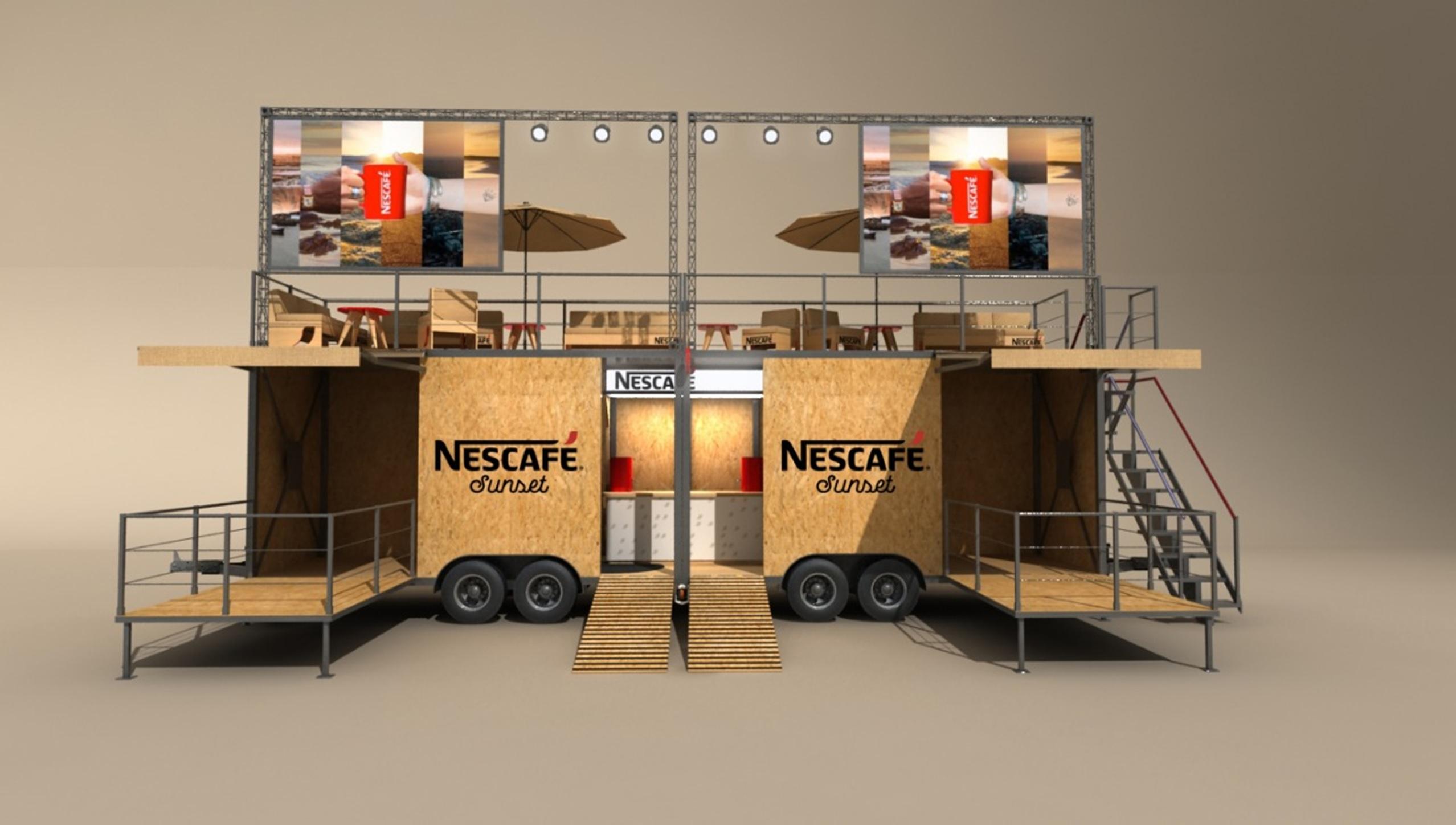 Nescafe reunirá a veraneantes en el primer Sunset 100% sustentable del país.