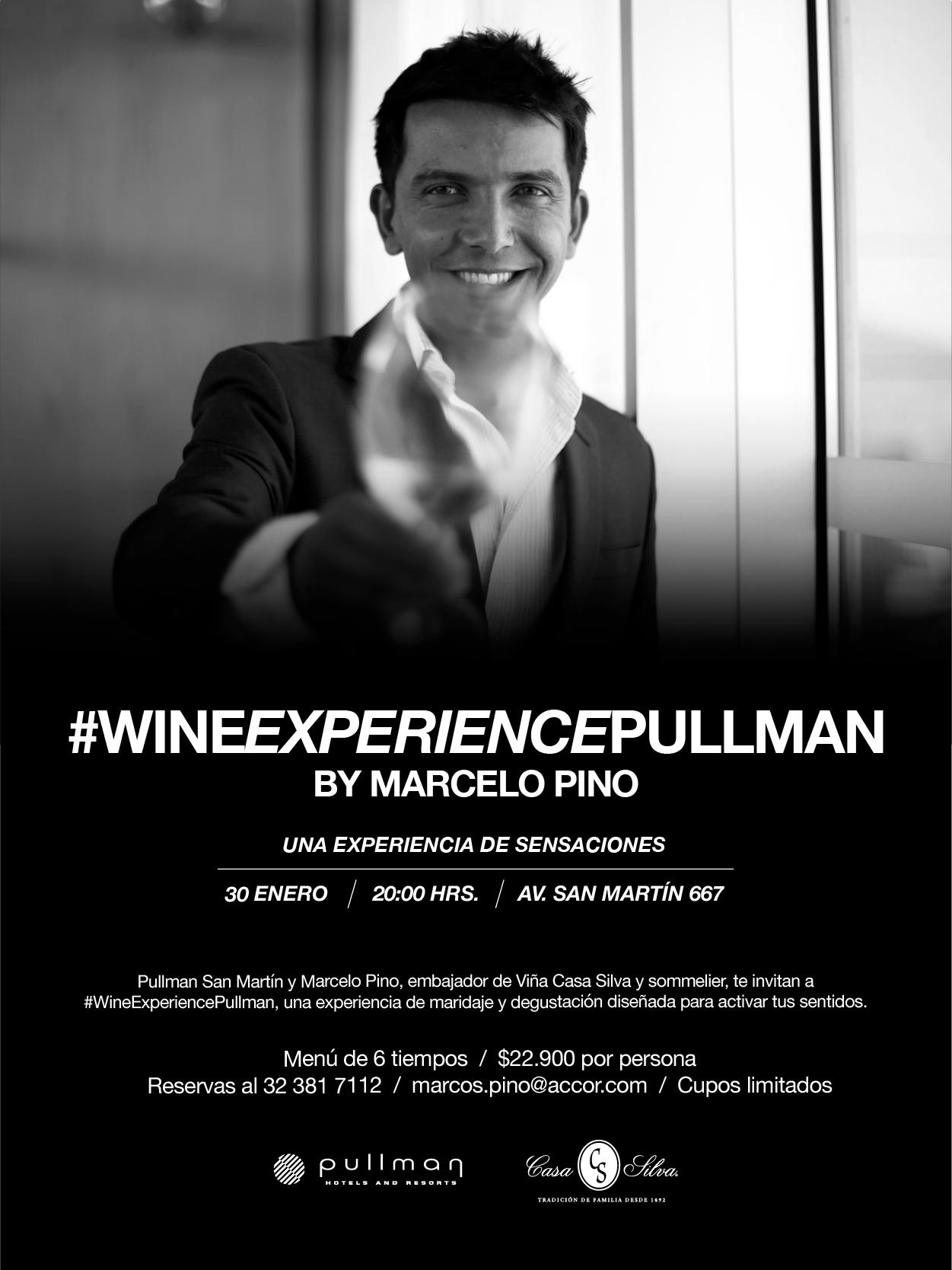 La experiencia del vino llega a Pullman Viña del Mar.