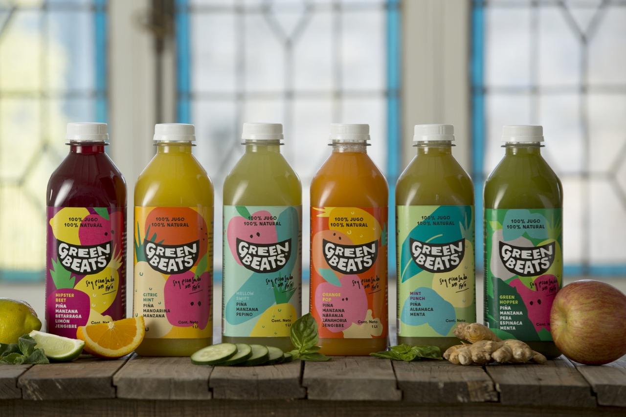 Probamos los jugos de Green Beats