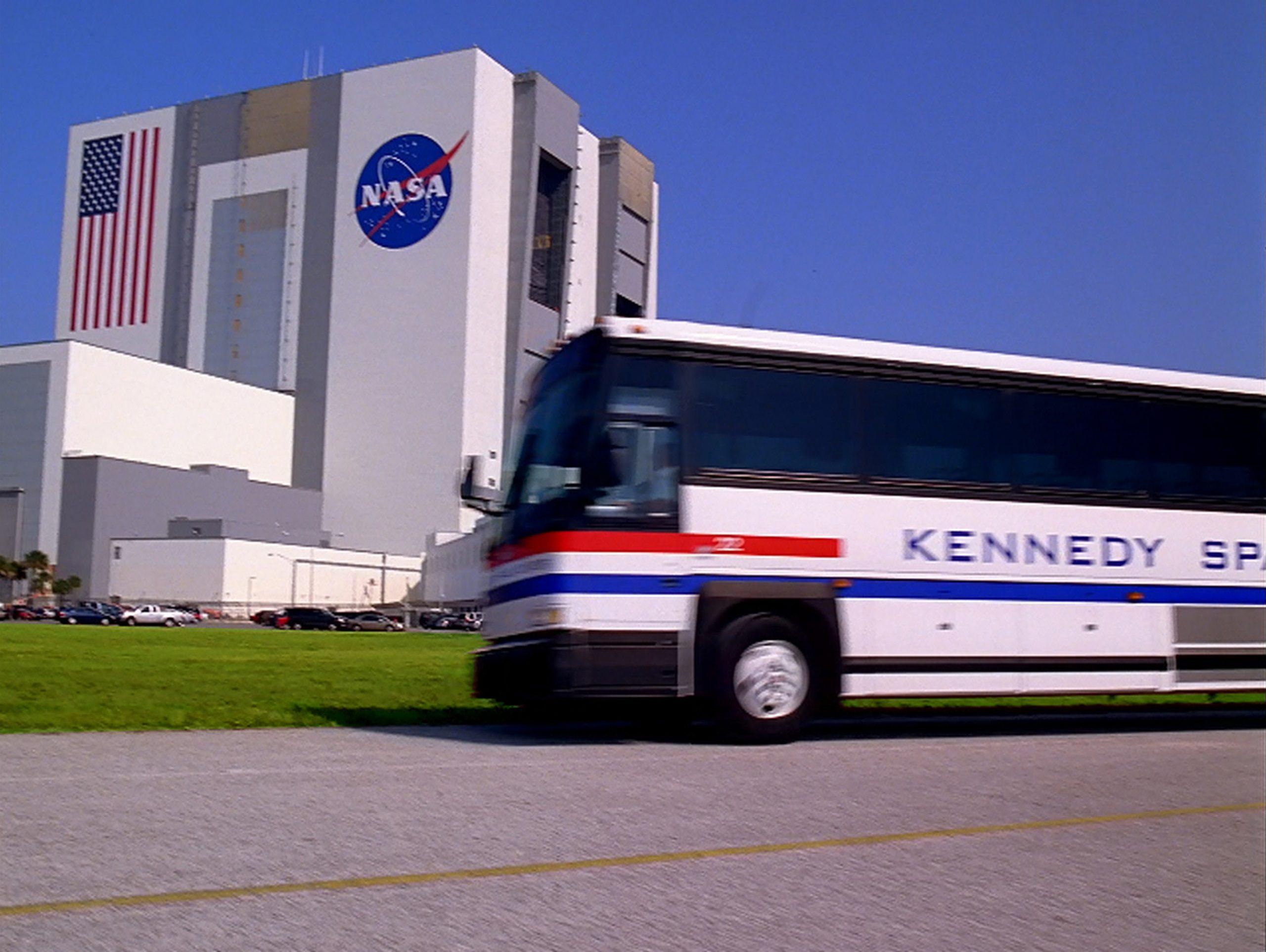 Nuevo tour en autobús en el Kennedy Space Center Visitor Complex.
