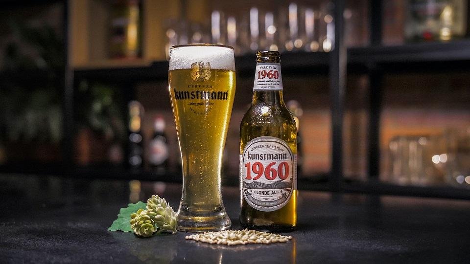 """Cervecería Kunstmann lanza """"1960"""" en conmemoración al del pueblo valdiviano tras el terremoto del 60"""