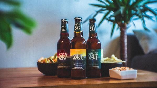 Cerveza Km 24.7 estrena una Bohemian Pilsener junto con nuevo envase
